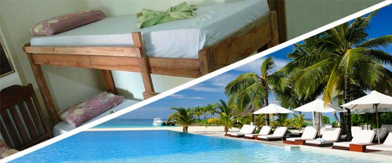 Budget and Luxurious Accommodation