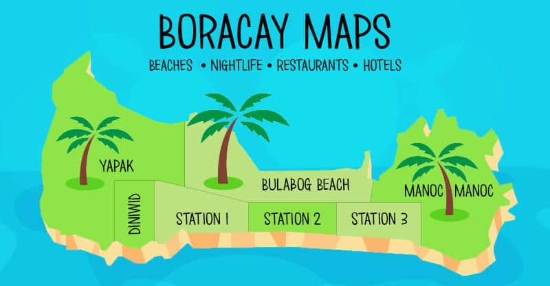 5 detailed boracay maps to help you navigate the island