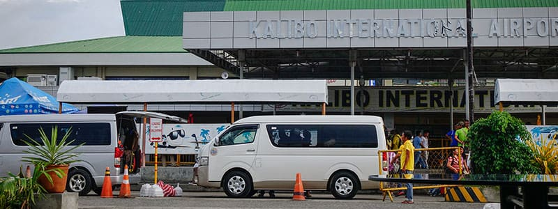 Transfer Vans at Kalibo International Airport